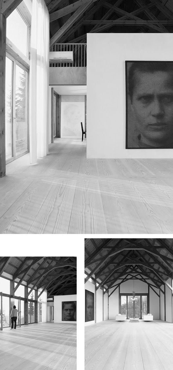 With a passion for wood Dinesen via PIIPIII