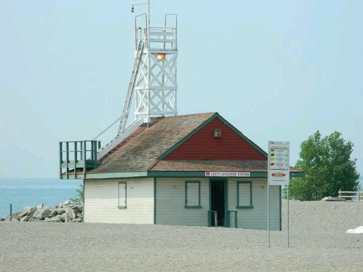Leuty Lifeguard Station...the Beach....Toronto