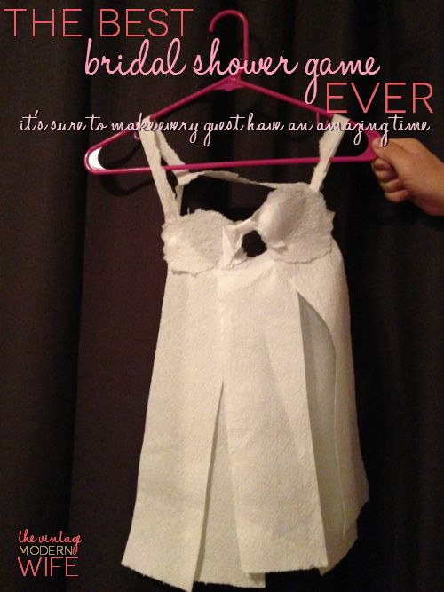 Best Bridal Shower Game ever: Toilet Paper Lingerie! I promise it'll give you and your guests TONS of laughs! Plus, get a coupon for Cottonelle toilet paper #CottonelleTarget #PMedia #ad