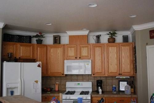 kitchen cabinets top trim ideas | kitchen cabinet trim ideas | my ...