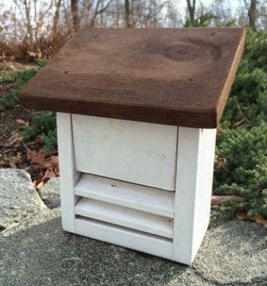 DIY Wooden ladybug shelter for your garden - woodworking plan // Katica ház (katica hotel) fából - hasznos rovarok a kertben // Mindy - craft tutorial collection