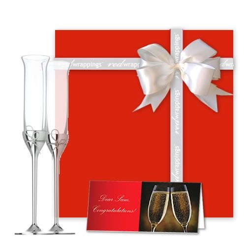 Vera Wang Love Knots Flutes Gift Set $135 (AUD) | FREE Delivery