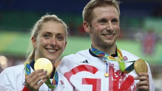 Rio Olympics 2016: Jason Kenny, Laura Trott, Giles Scott golds for GB on day 11