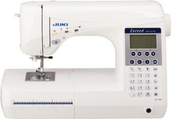 Macchina per cucire Juki HZL-F400 - Perfetta qualità dei punti i grazie al sistema di movimento griffa industriale di forma quadrata.