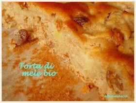 Mammaeco: Torta di mele bio senza uova e senza burro per la festa della mamma