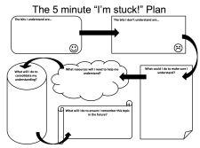 16. The 5 Minute I'm Stuck Plan