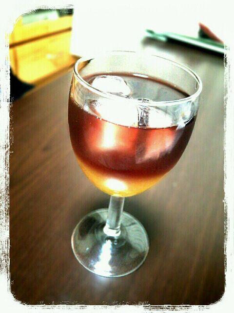 飲みかけの赤ワインとオレンジジュースを混ぜただけw - 21件のもぐもぐ - ワイン・クーラー(風) by wanpara