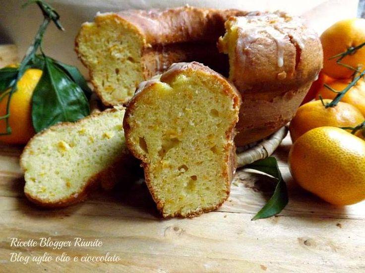 Ciambella arancia - Ricette Blogger Riunite