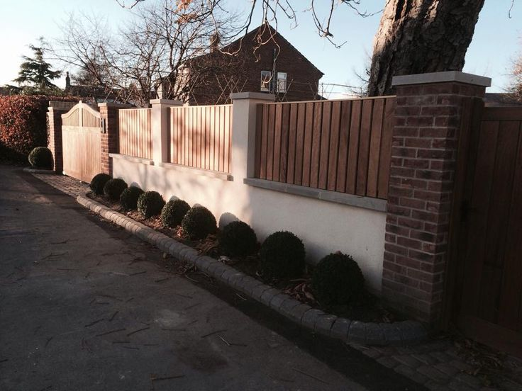 New Boundary Wall Gates Amp Fencing Boundary Wall