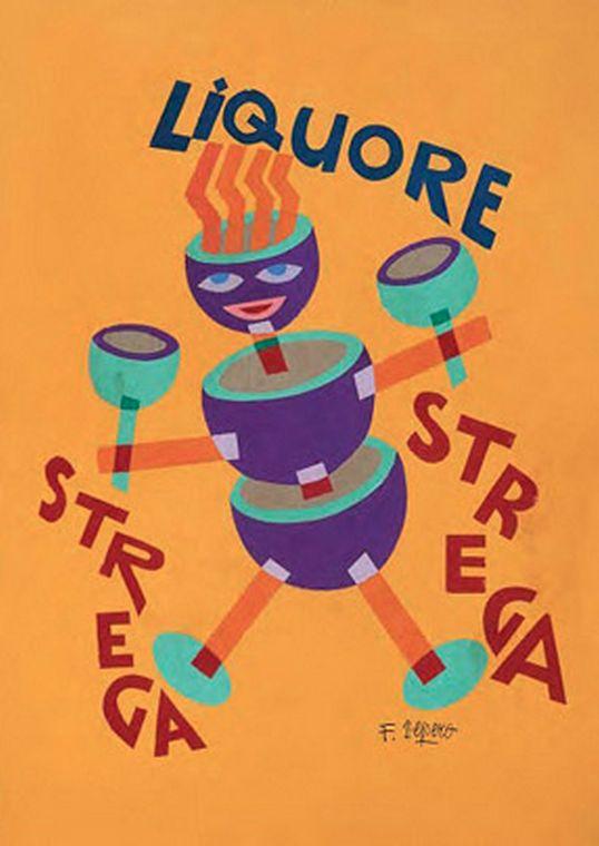 1928, Liquore Strega.