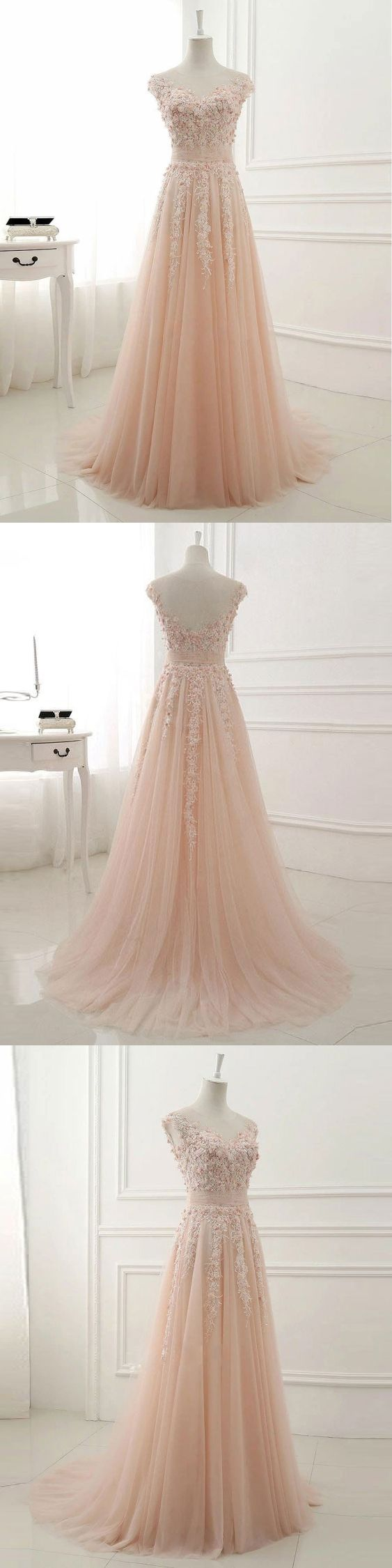 lace appliqued prom dresses,long prom dresses,prom dresses 2018,pageant dresses,prom dresses for teens,party dresses #sheergirl