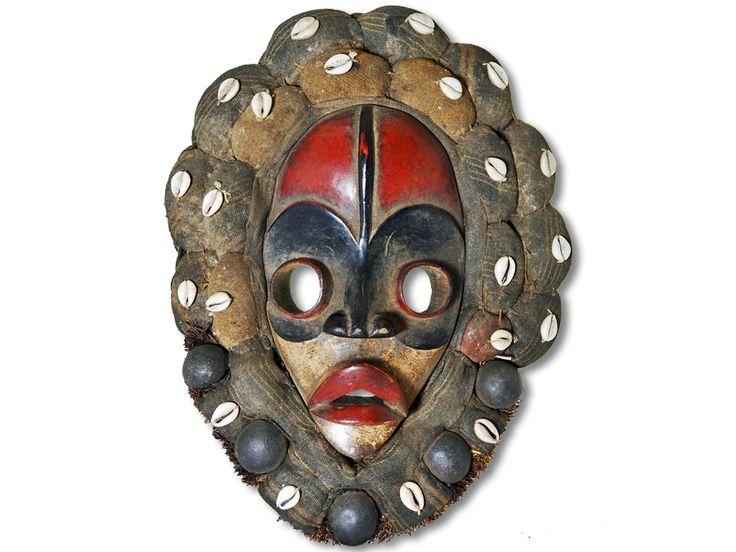 Maske der Dan Liberia/Afrika 39cm kaufen