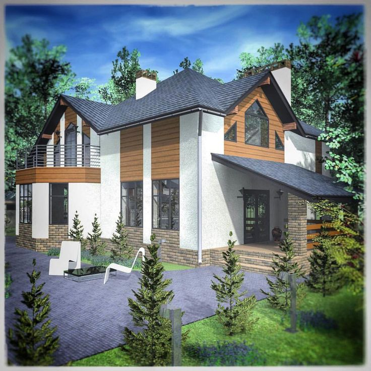 Один из наших недавних проектов. Бытует мнение, что мансарда упрощает  внешний вид дома. Мы спешим не согласиться) уверенны, что такой дом с мансардой долго будет радовать глаз своим экстерьером, а душу своим уютом) 🏡#project #architect #dizain #stroika #design #архитектура #архитектор #архитектурнаякомпания #дизайн #дизайнфасада #пооектдома #дом #проект #дача #проекткраснодар #красивыйдом #доммечты #проектируемдом #крд #краснодар #проекткраснодар #архитекторпереяслова #эскиз