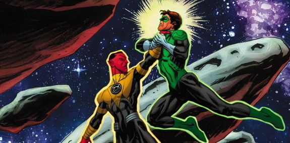 Cullen Bunn talka about the new cast members and status quo of the SINESTRO series and getting read for the series' first LANTERNS crossover event.