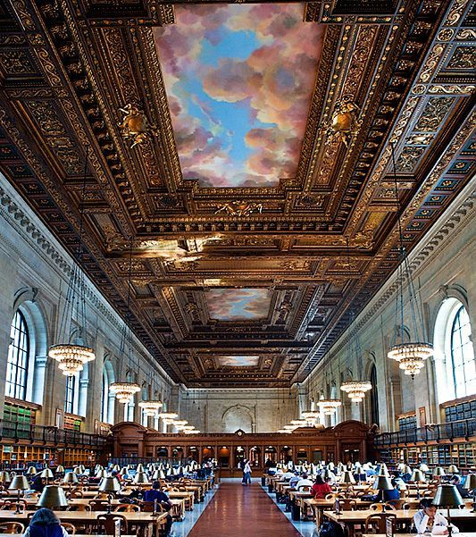 New York Public Library Reading Room (New York, New York)