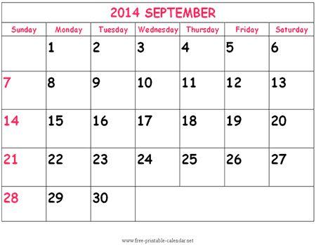 28 best October 2014 Calendar images on Pinterest Printable - countdown calendar templates