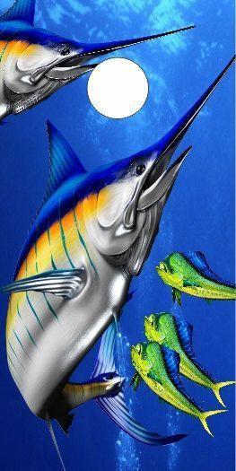 Custom Made Cornhole Bean Bag Toss BOARDS with BAGS Marlin Dolphin Fish Ocean Beach Water Scene #ad (scheduled via http://www.tailwindapp.com?utm_source=pinterest&utm_medium=twpin) (scheduled via http://www.tailwindapp.com?utm_source=pinterest&utm_medium=twpin)