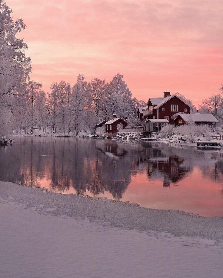 Winter Morning, Sweden