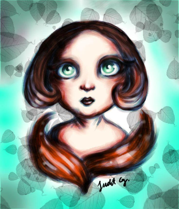 Innocent eyes by JuditG
