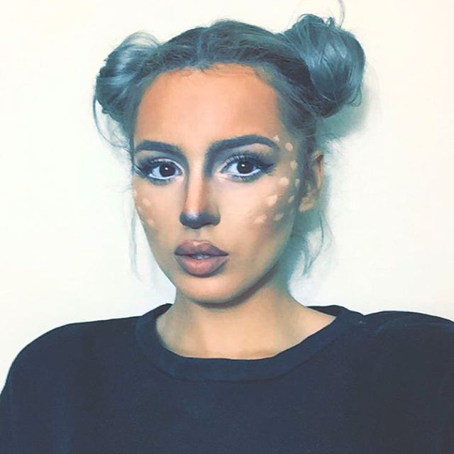 Happy Halloween my deer! stay tuned for my last minute Halloween Makeup ideas on my channel!!!