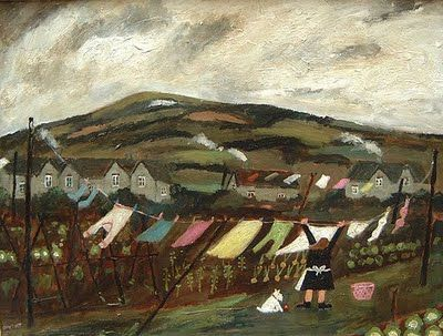 Gary Bunt. Wash days on the Downs
