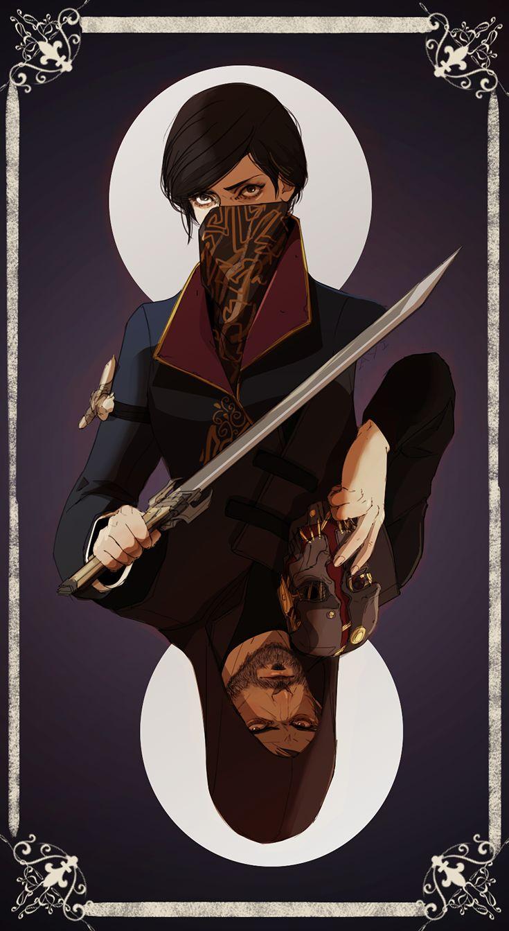 """#Dishonored ayiwasdead: """" i draw them, again ;^; """""""