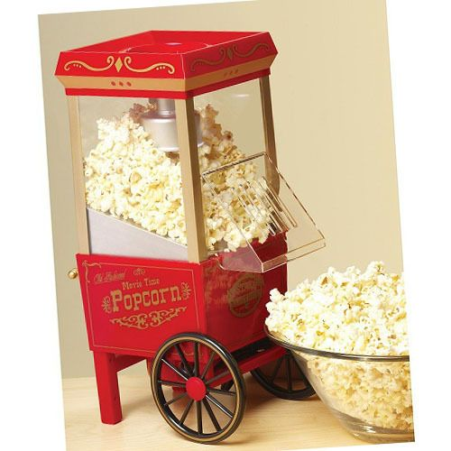 $79.95 Best Popcorn Machine Commercial Pop Corn Cart Nostalgia Popper Maker For Sale - Popcorn Poppers