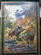 """Document Ancien - Border Terrier - Monographie de Chien de Chasse 1965 """""""