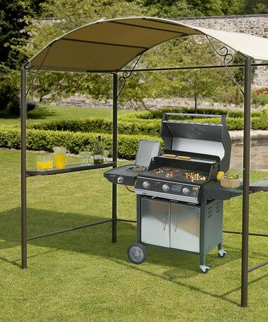 Take a look at this Steel Barbecue Gazebo by Trans-Continental Group on #zulily today! Steel Barbecue Gazebo add to my favorites Trans-Continental Group $279.99 retail$400.00