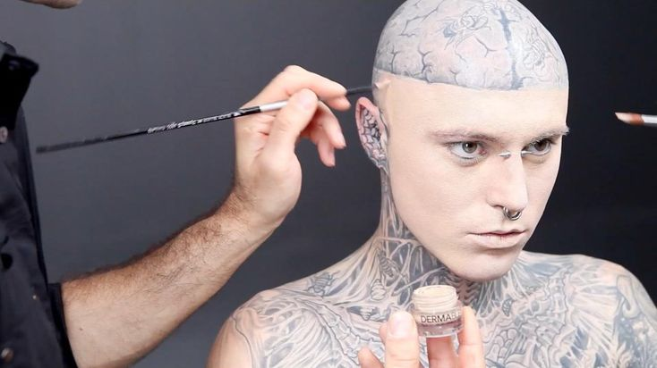 know Reddit definitely hates tattoos but Rick Genest (Zombie Boy ...