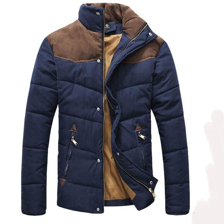Winter Style Cotton Padded Men's Jacket