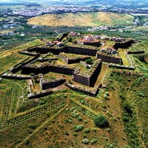 Photo: Fort of Graça. Aerial view. Elvas, Portugal ©Municipality of Elvas / Raul Ladeira & Domingos Bucho | Garrison Border Town of Elvas and its Fortifications classified as World Heritage by UNESCO