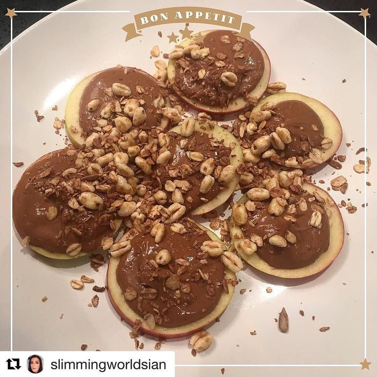 #Repost @slimmingworldsian (@get_repost)  Apple topped with PB2 Muesli & Honey Puffs  . 8 syns or 199 calories.  #CalorieCounting #SlimmingWorld #DietWhatDiet #TargetMember #SW #Slimstagram #FatToFit #Diet #CleanEating #StrongNotSkinny  #SlimmingWorldFood #SlimmingWorldUK  #Syn #Syns  #SpeedFood  #FoodBlogger #WeightLoss #WeightLossJourney #HealthyEating#HealthyEating #ExtremeWeightloss #FoodOptimising #FoodOptimise #ExtraEasy #BBG #BBGirl #Transformation #NothingTastesAsGoodAsSkinnyFeels…
