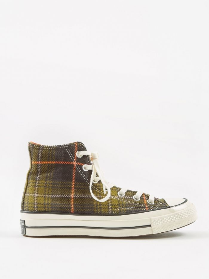 59c80e9c063b Converse Chuck Taylor All Star 70 Hi - Olive Orange (Image 1 ...