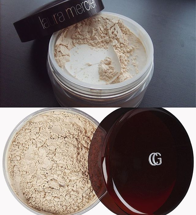 POWDER DUPE 101 Covergirl Translucent Powder in #105 for Laura Mercier Translucent Powder. The Covergirl powder wore just as nicely as the Laura Mercier one there was no difference at all to me  and it also didn't give flashback