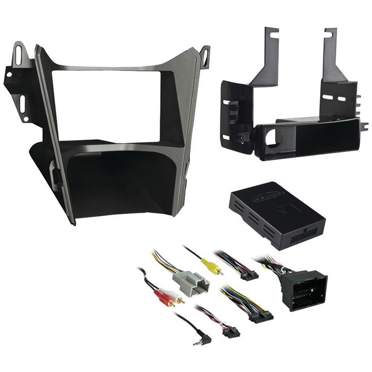 Metra Iso Single-din And Double-din With Pocket Installation Kit Chevy Equinox And Gmc Terrain 2013 & Up