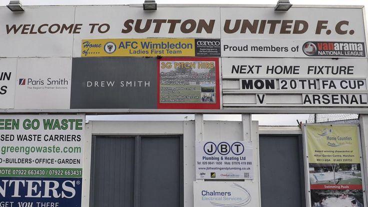 Arsenal affronte son destin et peut être une qualification pour le prochain tour de la FA Cup contre Sutton United. Gros match pour les hommes à Wenger