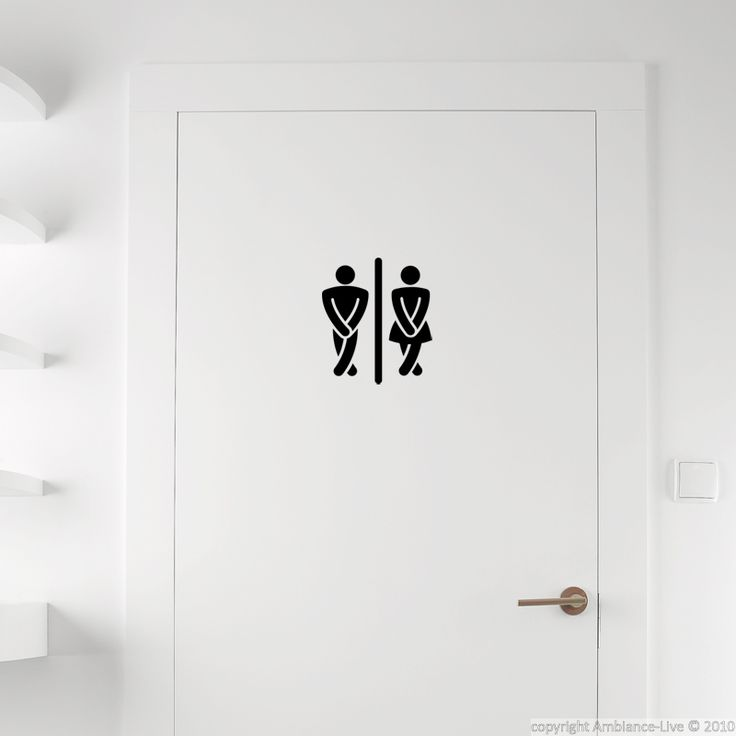17 Best Images About Galerie Stickers Portes De Wc