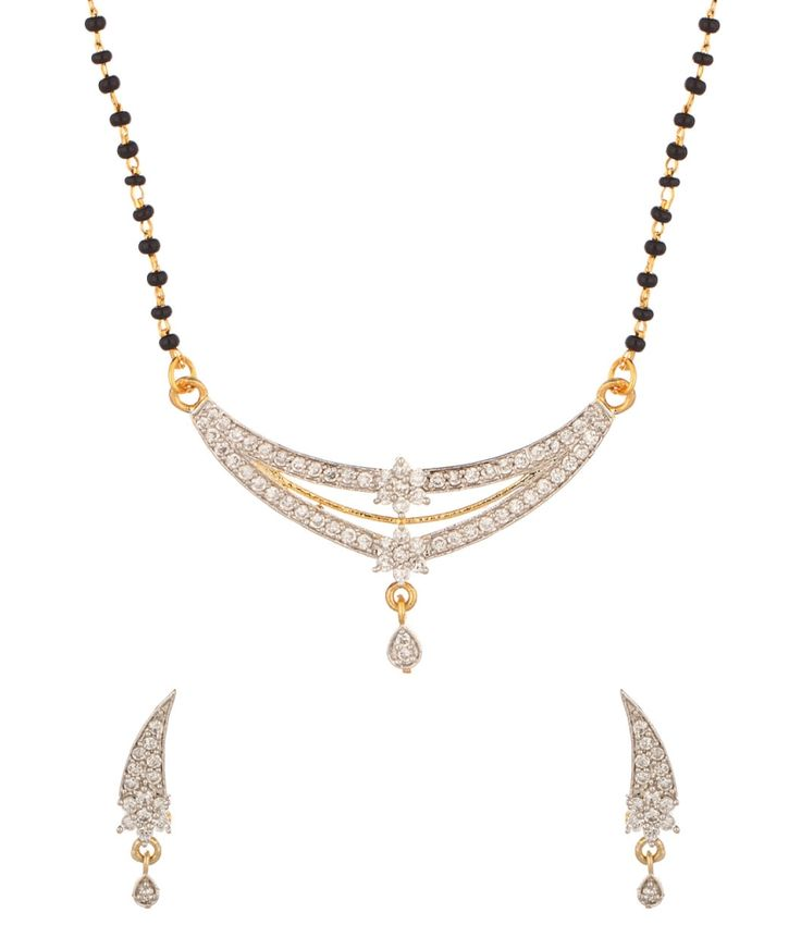 Voylla Single Chain Mangalsutra With Floral Designs, http://www.snapdeal.com/product/voylla-single-chain-mangalsutra-with/1727644494