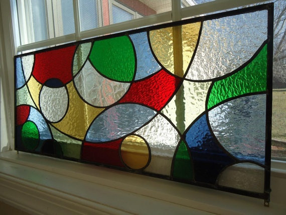 stained glass window panel- love it!