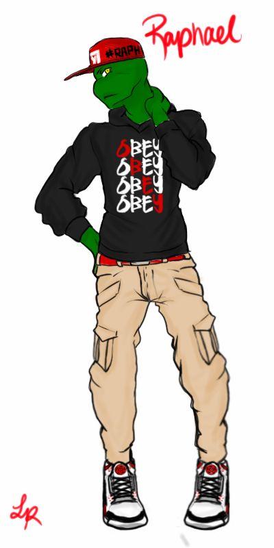 Obey Swag Raph by LoremRosa on DeviantArt