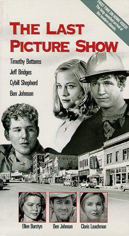 Jeff Bridges, Timothy Bottoms, Ellen Burstyn, Cloris Leachman, Cybill Shepherd, and Ben Johnson in The Last Picture Show (1971)