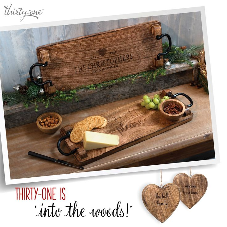 Only a select few consultants can offer you these items!  Check out our Promising Picks 2016 at www.organizingenvy.ca on October 1st, 2016. Personalize your wood cheese board and decorative hearts your way! I can help!