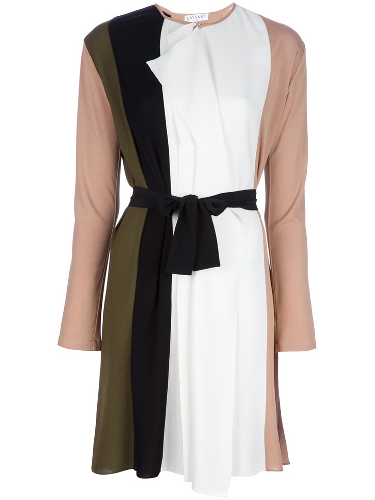 VIONNET Belted Dress