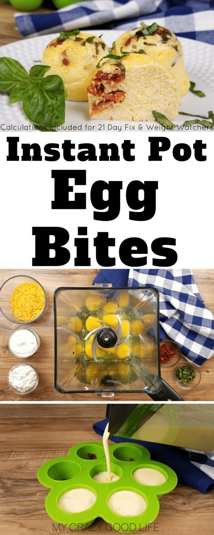 These copycat Starbucks Egg Bites are so delicious and easy to make in your Instant Pot! Save a ton of money by making Starbucks egg bites at home. Starbucks Egg Bites | Starbucks Egg Bites Recipe | Sous Vide Egg Bites | Instant Pot Egg Bites | Weight Wat