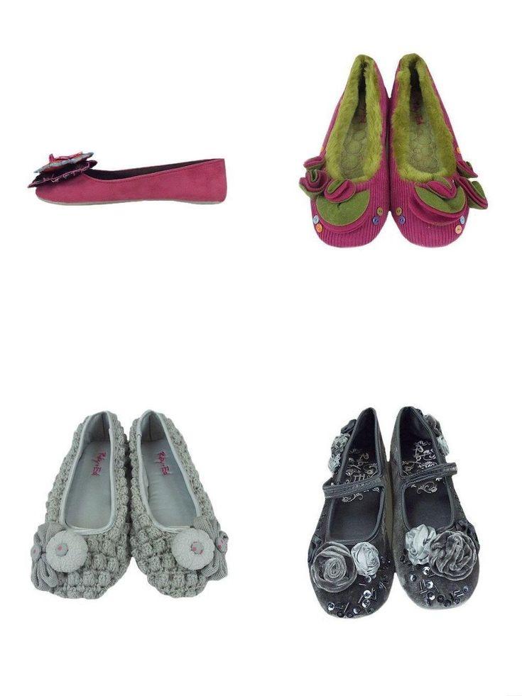 Luxury Ruby & Ed Ballerina Slippers Pumps Various Designs Uk Sizes 3-8