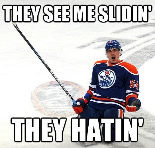 He's such a Russian. lolololol I LOVE Yakupov AND his ridiculous cellys!