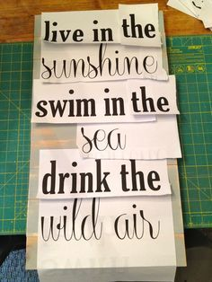 How to paint words on wood, there is also a link to a DIY manger on her site...I have no idea how to add that to pinterest!