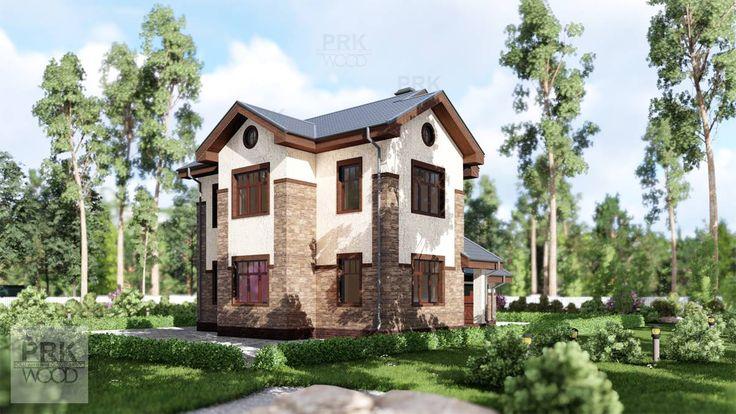Каменный дом для ПМЖ, имеет удобную планировку и может быть построен в этом году в любом регионе России!