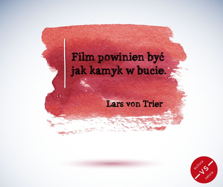 Lars von Trier #film #quote
